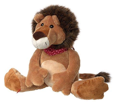 sigikid, Mädchen und Jungen, Stofftier Löwe groß, Silvio Savanne, Sweety, Braun, 38830 (Löwe Stofftier Große)