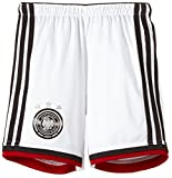 adidas Kinder kurze Hose DFB Home Shorts Youth, Wht/Black/Vicred/Mtsilv, 176, G76468