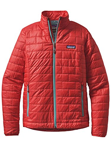 Patagonia Damen Nano Puff Jacke, Mogul Blue, Small french red