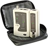 7links Netzwerk Kabeltester: 3in1-Kabeltester für RJ-45, RJ-11 und BNC (LAN Kabeltester)
