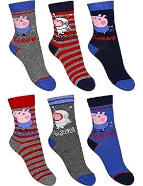 Peppa Pig Socken 6er Pack Astronaut