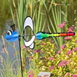 Windspiel - Little Magic Dragonfly - UV-beständig und wetterfest - Windrad: Ø28cm