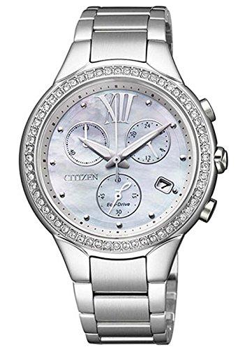 Citizen l crono eco drive fb1321-56a - orologio da polso donna