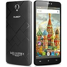 """Cubot Max - 4G Smartphone Libre Android 6.0 (Pantalla 6.0"""", MT6753 Octa-Core 1.3GHz, 3G Ram, 32G Rom, Dual Sim, Dual ID, Captura Gesto, HotKnot) (Negro)"""