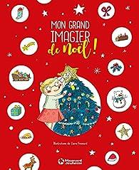 Mon grand imagier de Noël par Claire Frossard