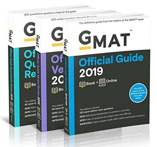 GMAT Official Guide 2019 Bundle: Books + Online (Gmat Official Guides)