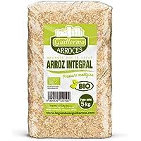 Guillermo Arroz Integral Granel Redondo Ecológico BIO Marisma de Doñana para paellas y risottos 100% Natural 5kg