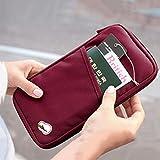 #3: ShopAIS Long Travel Passport Organizer_Maroon Color