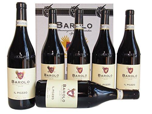 Barolo Cantina Il Pozzo Docg Confezione 6 Bottiglie da 75 cl - Il Barolo Il Re Dei Vini dalle Langhe nel Piemonte - cod 239