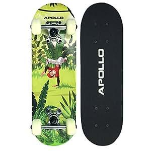 apollo kinderskateboard monkey man kleines skateboard f r. Black Bedroom Furniture Sets. Home Design Ideas