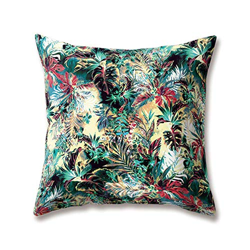 tgyew Soft Plush Flowers Cushion Covers Red Rose Peony Iris Daisy Blue Cornflowers Printing 30cm x 30cm(12 x 12inch) Throw Soft Plush Pillow Cases for Home Sofa Bed Decorative (Iris Halloween Lounge)
