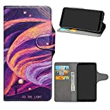 HHDY BQ Aquaris X2 Case, Flip PU Leather Wallet with