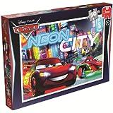 Disney Cars Neon Jigsaw Puzzle (50 Pieces)
