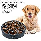 """11.8"""" Grande Ciotola cani mangiare lento, Distributore di cibo lento, Ciotola per animali da compagnia e animali domestici, interattiva, perfetta come, Regalo della mamma"""