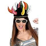 Gorro de arlequín sombrero bufón