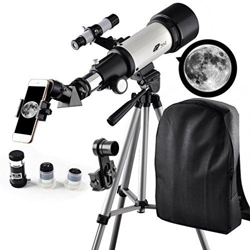 Telescopio 70 mm Aperture Travelscope 400 mm AZ Mount