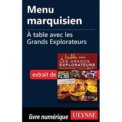 Menu marquisien - A table avec les Grands Explorateurs
