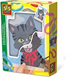 SES-Creative 00865  Gatto- Set da ricamo