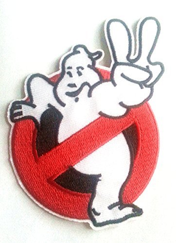 ie No Ghosts Embroidered Logo PATCH by Main Street 24/7 ()