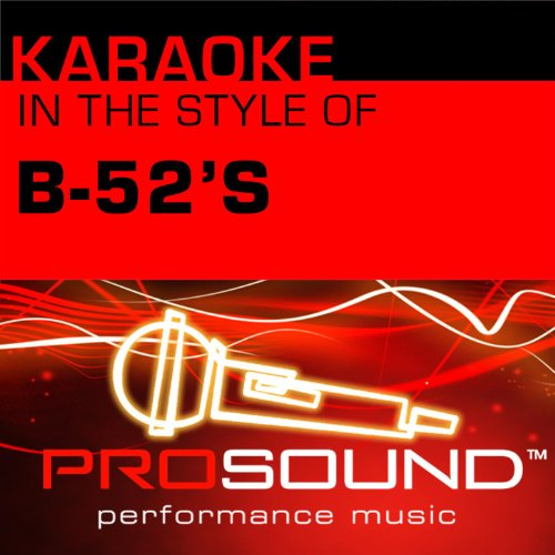 52 Single (Karaoke - In the Style of B-52's - Single (Professional Performance Tracks))
