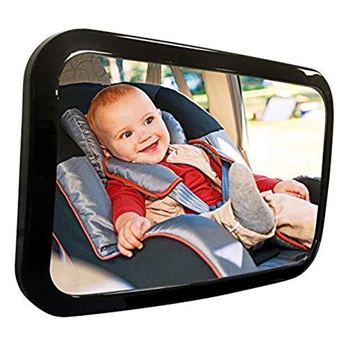 Baby Car Mirror, Rotazione di 360° HD infrangibile Bambino Neonato Backseat Acrilico Specchio per la Fronte Posteriore Sedile Auto