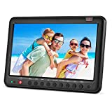 Portable TV with Freeview DVB-T2/DVB-T 10.1inch built-in li-ion battery small screen digital LCD