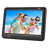 Tragbare TV mit Freeview DVB-T2/DVB-T 10,1 Zoll eingebauten Lithium-Ionen-Batterie kleinen Bildschirm digital LCD