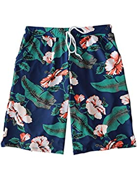 HAIYOUVK Shorts Men'S Five Points Casual Sports Pants Summer Loose Large Size Quick-Drying Men'S Beach Pants,L...