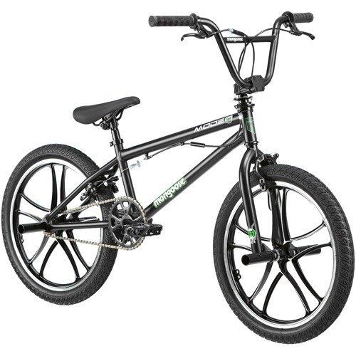 20 Mongoose Mode 270 Boys' Freestyle Bike, Black by Mongoose