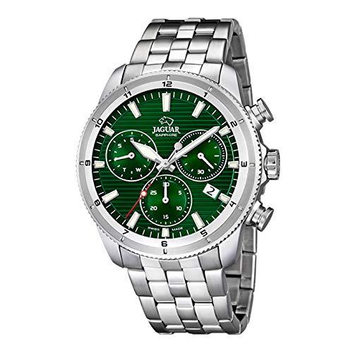 JAGUAR Herren Uhr Sport J687/C Edelstahl Armbanduhr Executive Silber UJ687/C