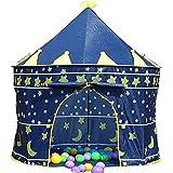 Children Kids Wizard & Princess Castle Tent for Indoor & Outdoor Playhouse