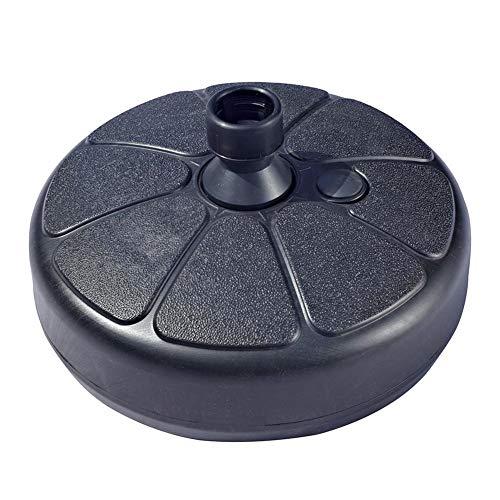 navigatee Outdoor Sun Umbrella Base Stand Runder wassergefüllter Schirmhalter für 3,5-3,8 cm Schirmstange -