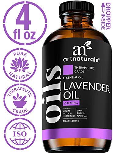 ArtNaturals 100% Pure Lavender Essential Oil - (4 Fl Oz / 120ml) - 3pc Set - Includes Our Signature Zen Blend 10ml and Signature Chi 10ml - Therapeutic Grade Natural From Bulgaria