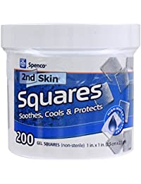Spenco 2nd Skin Jar 200-1 inch Squares (non-sterile)