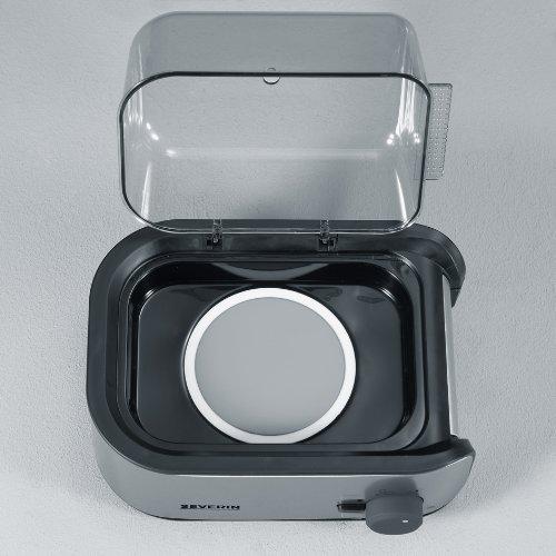 51hXBiJN%2BZL. SS500  - Severin Egg Boiler with 400 W of Power EK 3134, Brushed Stainless Steel-Black
