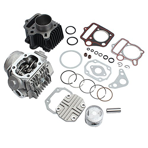 HELEISH Zylinder Motor Motor Rebuild Kit Für Honda ATC70 CT70 TRX70 CRF70 XR70 70cc Motorradzubehör