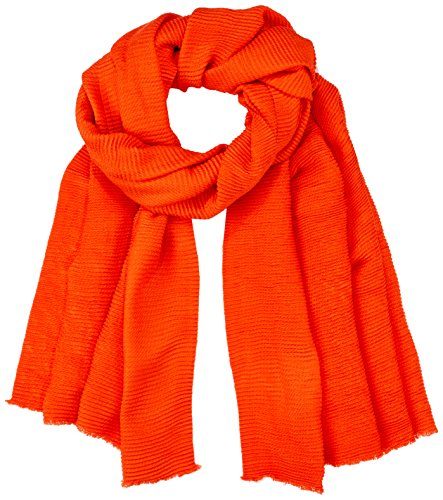 Dorothy Perkins Damen Schal Pleated Scarf, Rot (Red 010), One size Preisvergleich