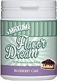 Maxum Flavor Dream Blueberry Cake - Nur 4 kcal pro Portion - Geschmacks-Pulver/Aroma-Pulver/Flavor-Powder - Ideal als Lebensmittel- und Back-Aroma - Low-Carb-Produkt/Diät - 70-120 Portionen