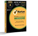 Norton Security Estándar y Wifi Privacy 2018 | 1 dispositivo | 1 año | PC/Mac/iOS/Android | Descarga