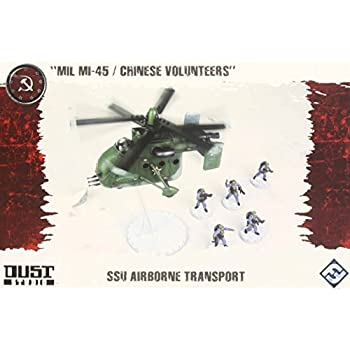 Dust Tactics: Ssu Airborne Transport Miniatures
