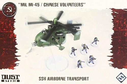 Dust Tactics: Ssu Airborne Transport Miniatures
