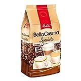 Melitta Ganze Kaffeebohnen, 100% Arabica, mildes Aroma, leichter Charakter, milder Röstgrad, Stärke 2, BellaCrema Speciale, 1000g