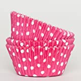 Amit Marketing Cupcake/sweet cover white printed butter paper cover pack of 100pic