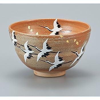 Tee Sch/üssel fliegenden Kranichen AP3-0591 aus Japan Kutani Keramik Matcha Gr/üner Tee aus Japan Kaffee