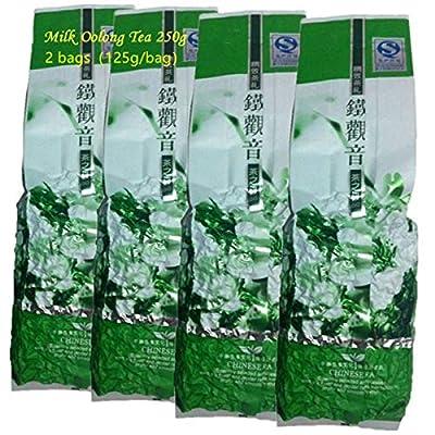 250g (0,55LB) thé au lait Oolong High Tea rentable thé Oolong thé frais Nouveau thé chinois Anxi Oolong thé vert