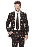 Opposuits Black-O Jack-O Anzüge mit bunten Prints - Komplettes Set: Jackett, Hose und Krawatte