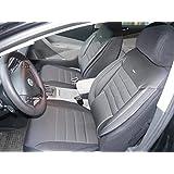 Cubiertas para asientos de automóvil Peugeot Bipper Tepee no3 negro-gris protectores juego completo ara los asientos delanteros y traseros fundas de asiento