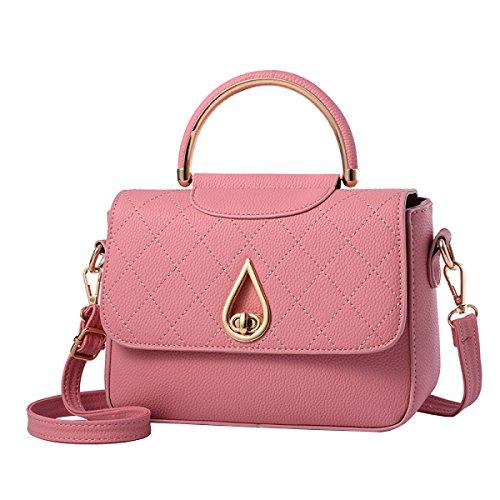 LAIDAYE Handtaschen-Retro- Handtasche Mode Handtasche Schultertasche Messenger Bag Kleines Quadrat-Paket 3