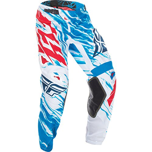 Vented Motocross Hose (370-43224 - Fly Racing 2017 Kinetic Relapse Youth Motocross Pants 24 Red White Blue)