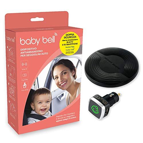 Steelmate Baby Bell Dispositivo Anti Abbandono Bambino per Seggiolini Auto
